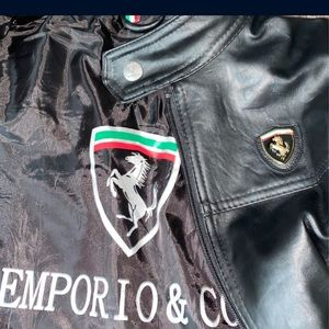 Emporio & Co Ferrari Leather Jacket